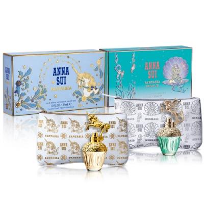 ANNA SUI安娜蘇 童話禮盒(淡香水30ml+手拿包)-2款任選
