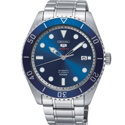 SEIKO 精工5號盾牌水鬼型機械錶(SRPB89J1)