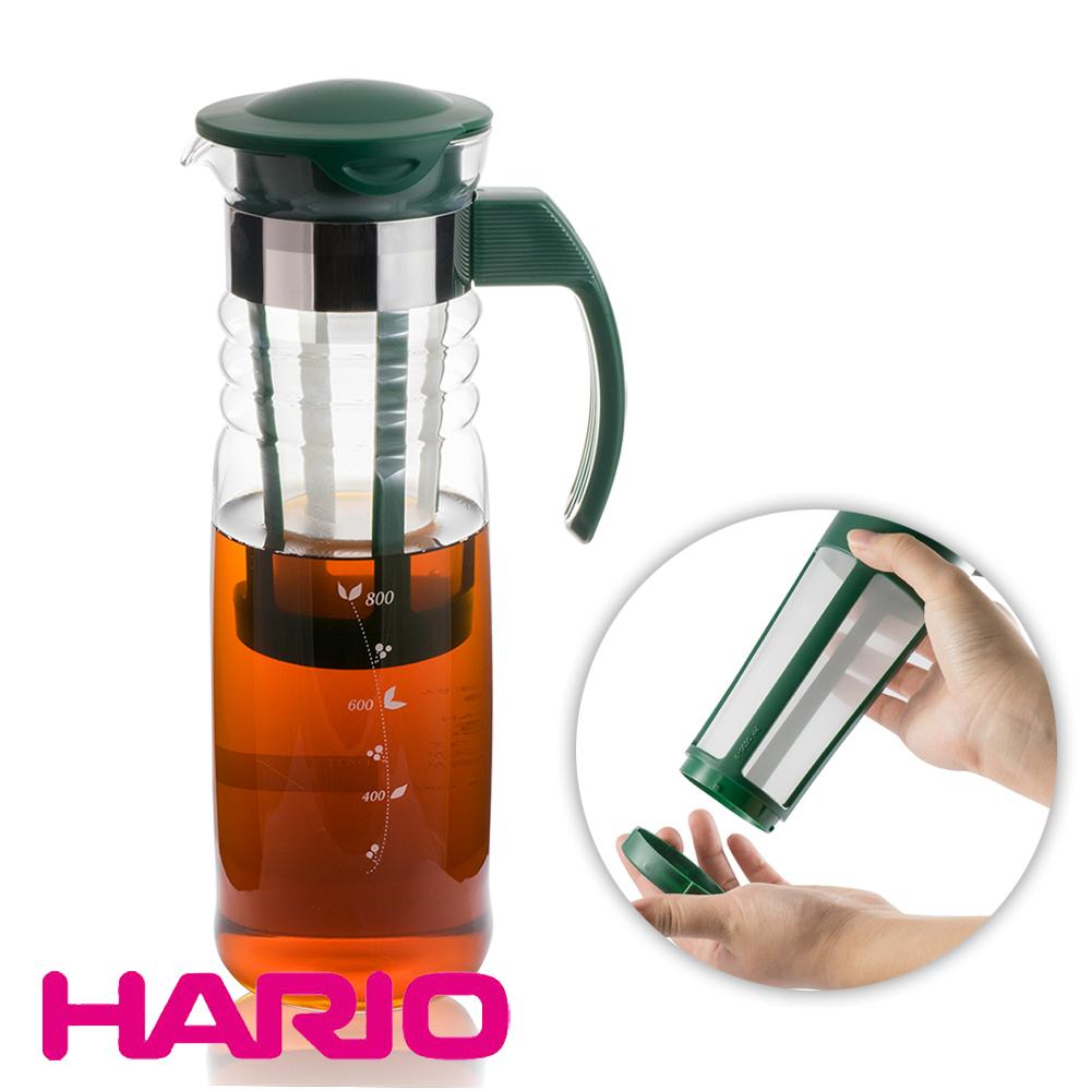 日本 HARIO 冷熱兩用泡茶壺1200ml (HCC-12DG)