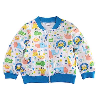 動物印花薄款外套 k50627 魔法Baby