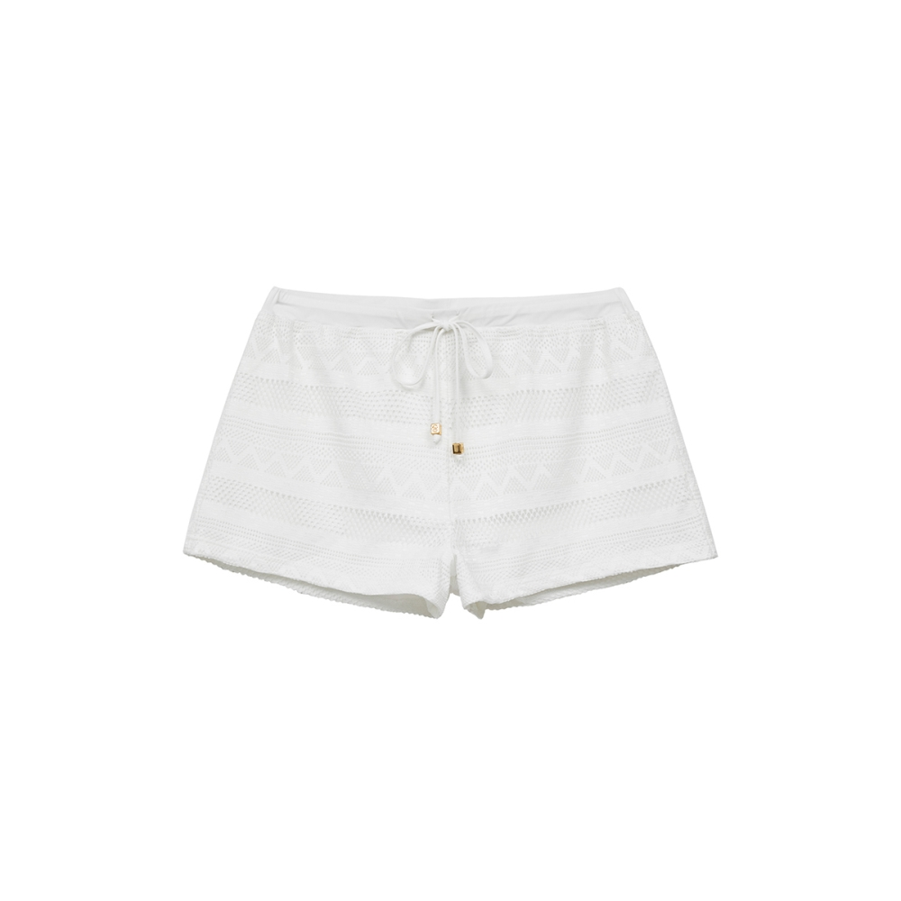 WAVE SHINE-蕾絲外穿式泳褲(兩色)-女【TWS119】