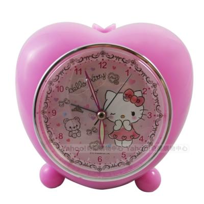 Hello Kitty小熊愛心音樂貪睡鬧鐘 JM-2051KT