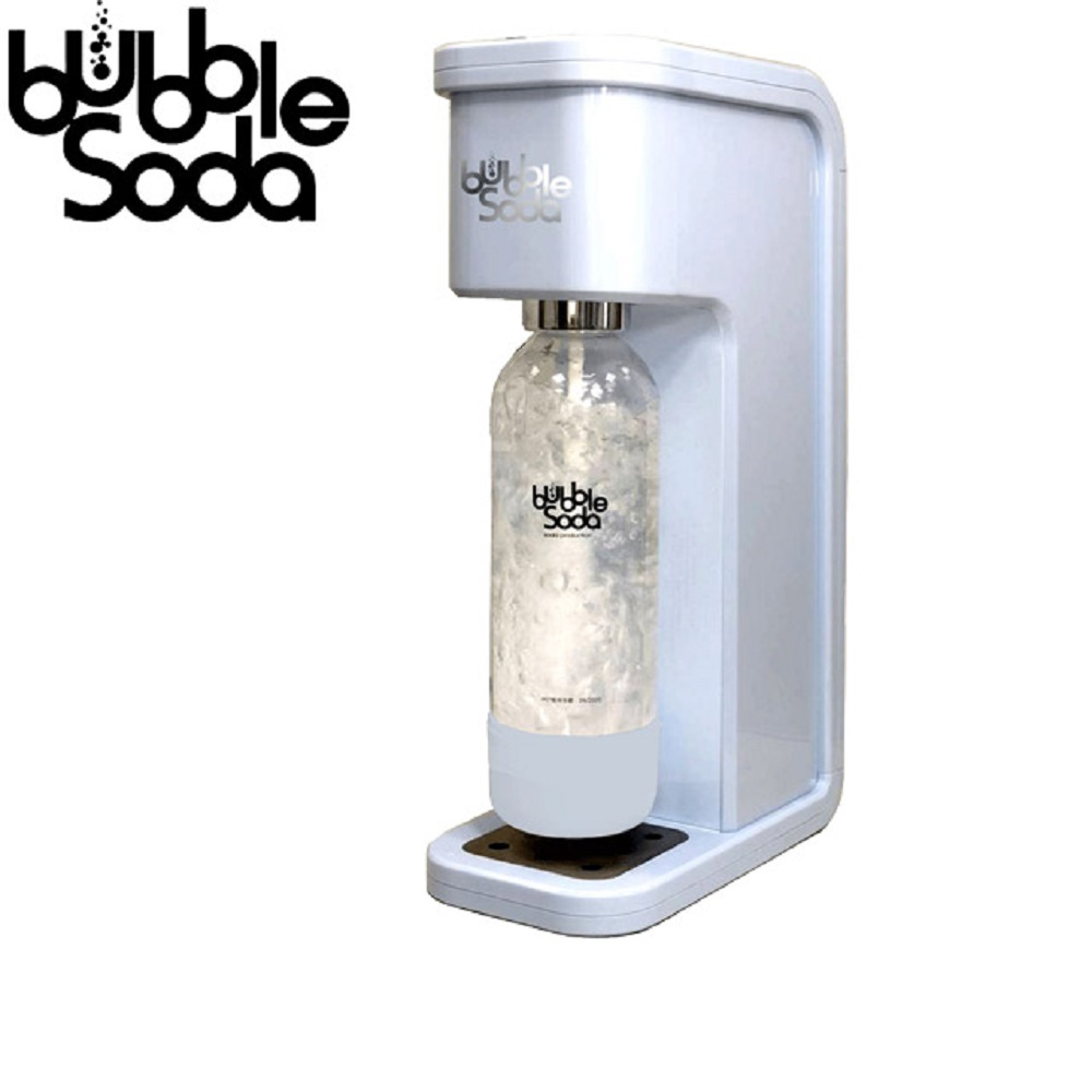 ★限期加贈900cc冰霸杯~bubbleSoda BS-305 健康氣泡水機 (花漾沁藍)