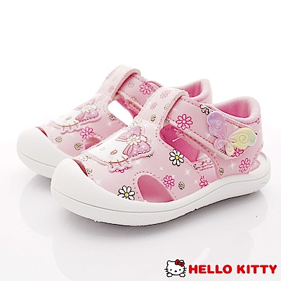 HelloKitty童鞋 護趾繽紛蝴蝶涼鞋款 EI19212粉(小童段)
