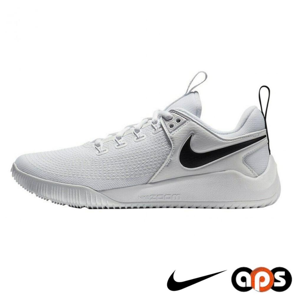 NIKE 排球鞋 男鞋 運動鞋 奧運 羽球鞋 桌球鞋 氣墊 避震 包覆 MENS NIKE HYPERACE 2 白 AR5281-101