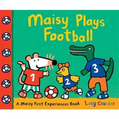 Maisy Plays Football 波波踢足球精裝繪本