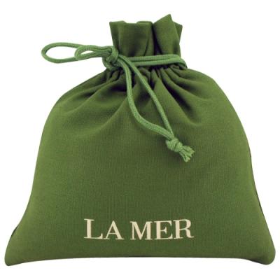 LA MER海洋拉娜 經典綠束口袋化妝包