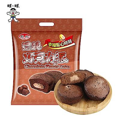旺旺 野川濃純巧克力口味派(228g)