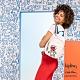Kipling x Keith Haring 限量聯名系列街頭塗鴉拉鍊式小巧收納後背包-DELIA MINI product thumbnail 1
