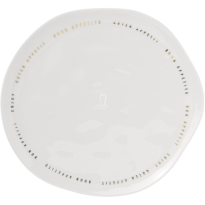 《RADER》燙金餐盤(幸福享食XL)