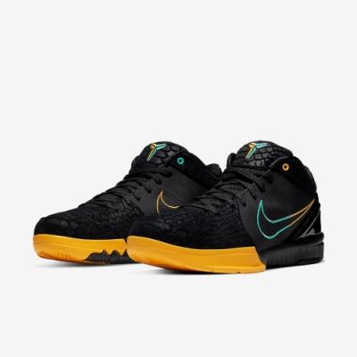 Nike 籃球鞋 Kobe IV 老大 黑曼巴 男鞋