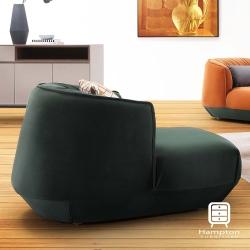 漢妮Hampton盧昂系列輕奢質感單人沙發