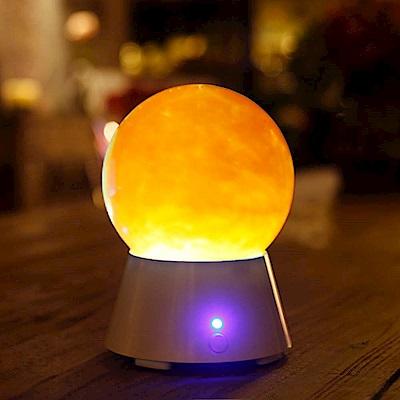 法國三寶貝 魔幻五色星球藍芽旋轉喇叭LED桌上擺飾夜燈