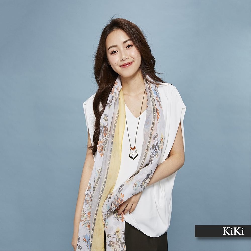 【KiKi】立體剪裁氣質-上衣(二色)