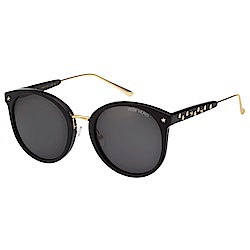 VEDI VERO 復古圓面大框 太陽眼鏡 (黑色)VE807