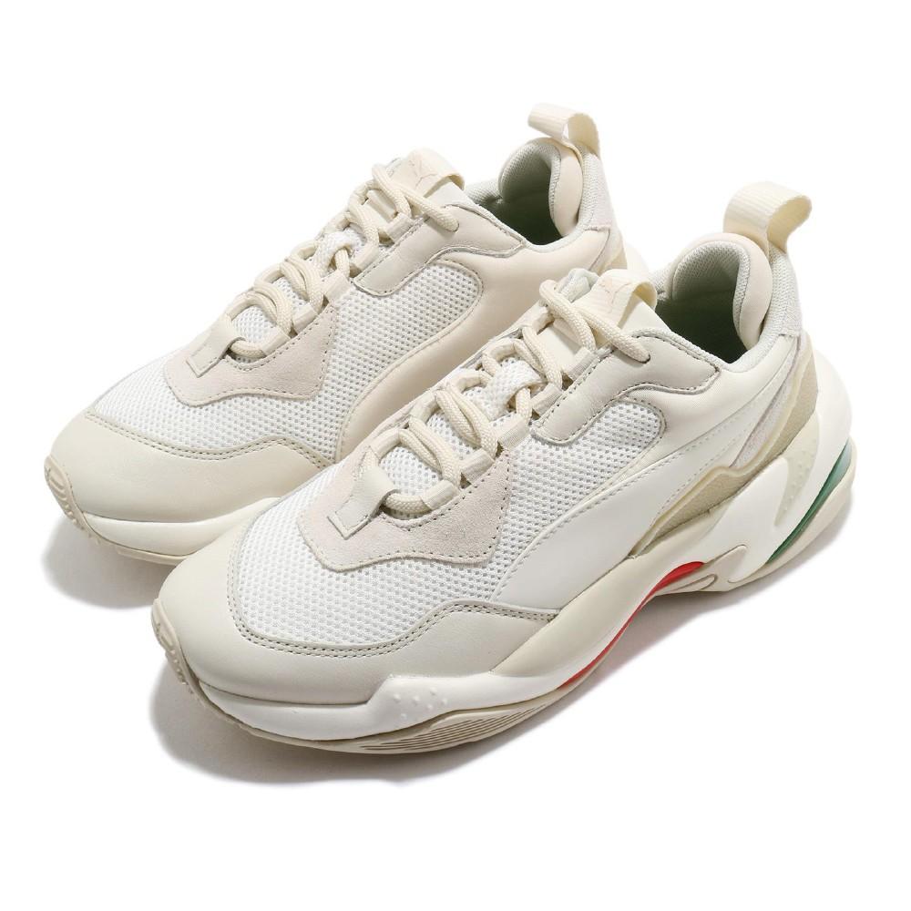 Puma 休閒鞋 Thunder Spectra 男女鞋 老爹鞋 舒適 厚底 情侶穿搭 泫雅 米白 白 36751612