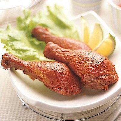 松稜 台南煙燻一族 糖燻雞腿(2支)