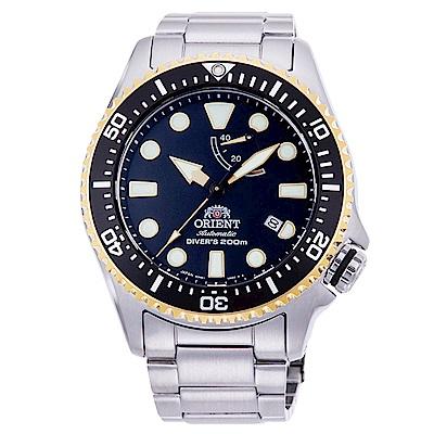 ORIENT東方200m潛水機械錶手錶RA-EL0003B-黑/43mm