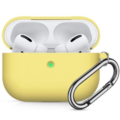 【TOYSELECT】聚合黑科技Airpods Pro矽膠保護套:鵝黃色