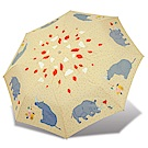 RAINSTORY 犀牛派對抗UV雙人自動傘(米黃)