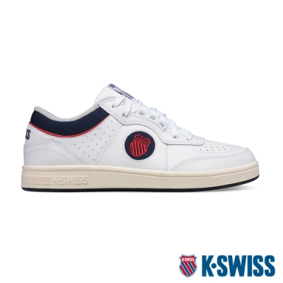 K-SWISS North Court時尚運動鞋-男-白/藍/紅