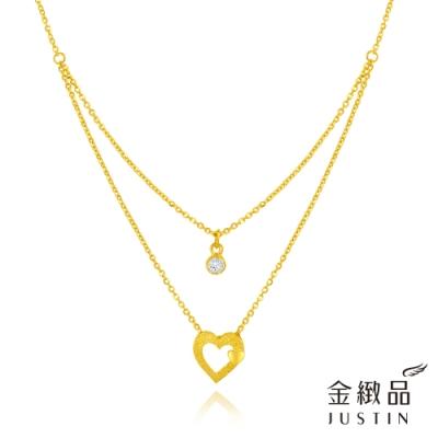 金緻品 黃金項鍊 閃耀心動頻率 1.16錢