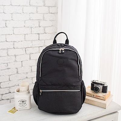 COUNT DUCK 美系悠活輕量運動型後背包-CD-012-黑色