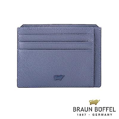 BRAUN BUFFEL - 奧菲莉亞V系列10卡單層卡夾 - 薰衣草紫