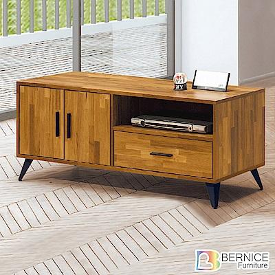 Bernice-卡特斯4尺二門一抽電視櫃/長櫃-120x40x50cm