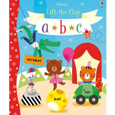 Lift-The-Flap ABC 翻翻學習書:學習字母