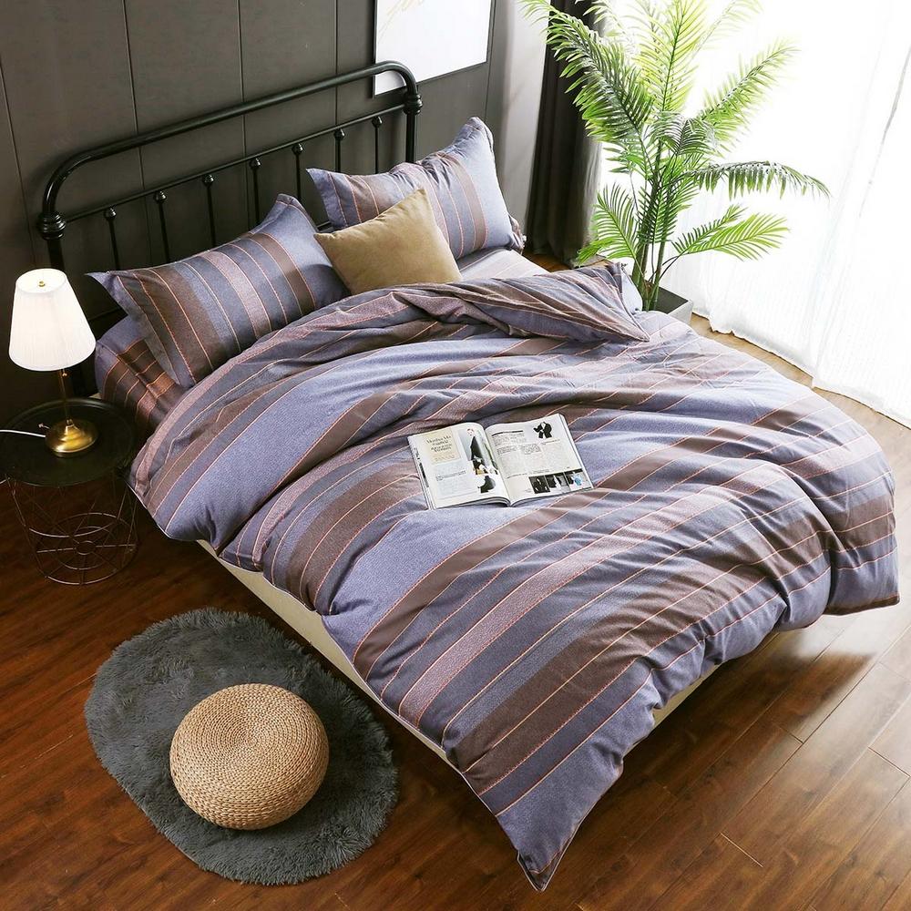 夢工場 以春相付60支紗長絨棉床包兩用被組-加大