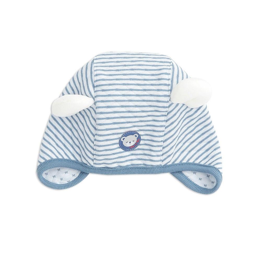 奇哥 緹花包紗造型帽 3-6個月 (2色選擇)