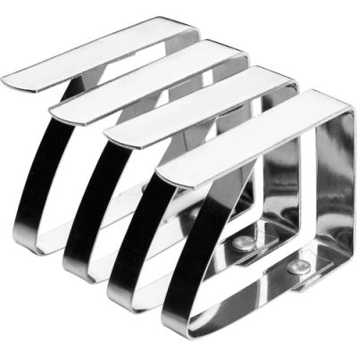 《IBILI》不鏽鋼桌布固定夾4入