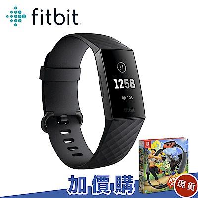 Fitbit Charge 3 智慧手環 黑框黑錶帶