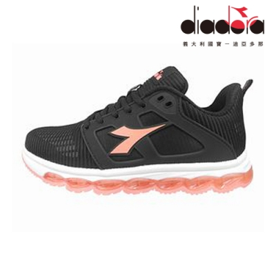 Diadora 女輕量慢跑鞋 黑 DA9AWR7650
