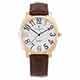 [雙11]Valentino Coupeau 范倫鐵諾 古柏 萊茵腕錶 玫瑰金色 咖啡皮帶 product thumbnail 1
