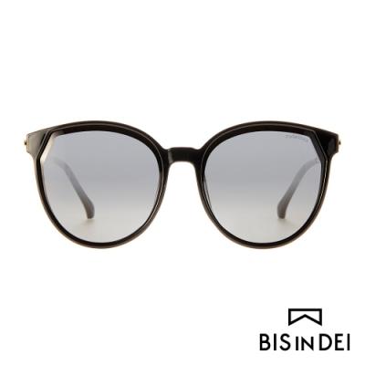 BIS IN DEI 經典女伶框太陽眼鏡-黑