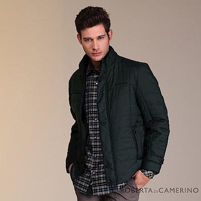 ROBERTA諾貝達 禦寒保暖 經典厚舖棉夾克外套 墨綠