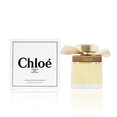 Chloe Absolu De Parfum極緻女性淡香精75ml-Tester