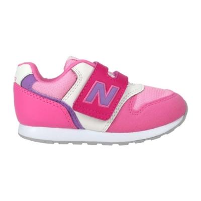 NEWBALANCE 女小童休閒運動鞋-WIDE-麂皮 996系列 NB IZ996MPP 桃紅紫