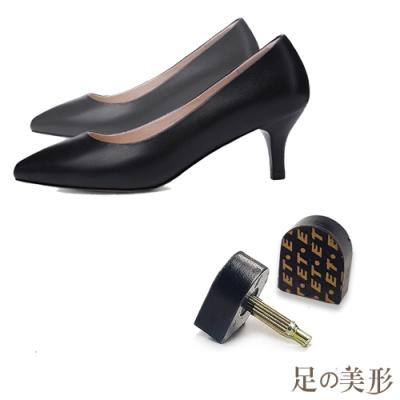 足的美形 超耐磨台灣ET鞋跟釘 (6雙)