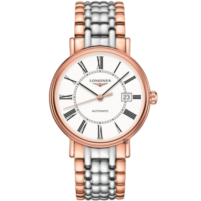 LONGINES 浪琴 Presence 羅馬機械錶-40mm L49221117