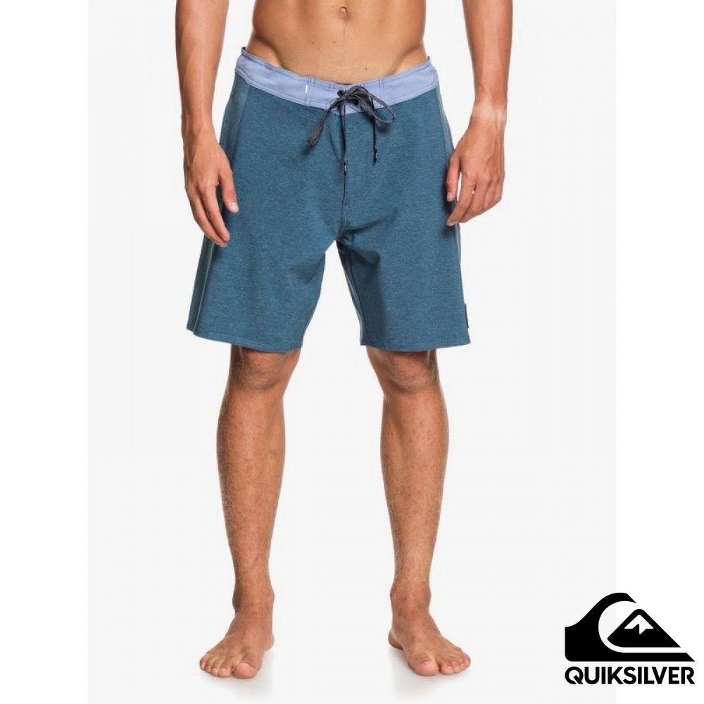 【QUIKSILVER】ARCH BEACHSHORT 18 衝浪休閒褲 藍色