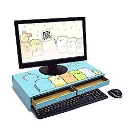 Sumikko gurashi 角落小夥伴 電腦螢幕架/鍵盤架-悠藍