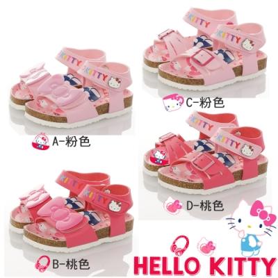 Hello Kitty 45週年限量童鞋 輕量腳床型鞋-粉.桃