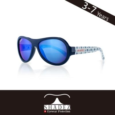 瑞士SHADEZ兒童太陽眼鏡SHZ-61(年齡3-7)--藍白船錨