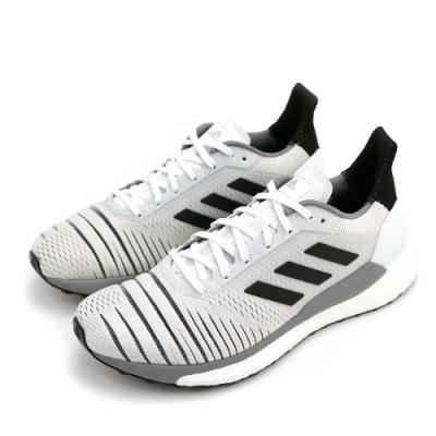 ADIDAS SOLAR GLIDE W 女跑步鞋 白黑