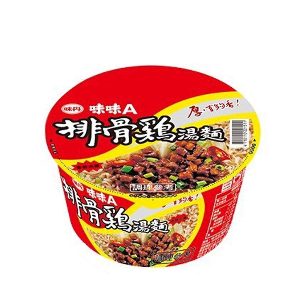 味丹 味味A排骨雞湯麵90g(碗)