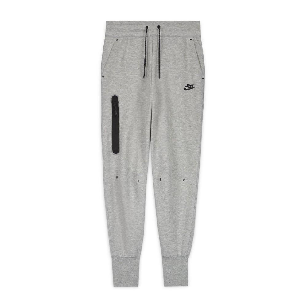 Nike 長褲 Tech Fleece Pants 女款 NSW 運動休閒 棉褲 縮口褲 口袋 灰 黑 CW4293063