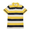 Timberland 男款黃條條紋POLO衫 | A1S2YI36
